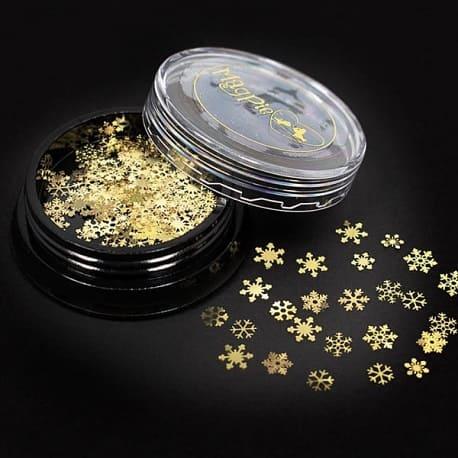 Snowflakes guld